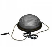 BOSU балансировочная платформа PS BS-300 (h-16см,d-59см,2 эсп.l-75см, насос, массаж стопы)
