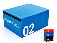Бокс плиометрический мягкий (1шт) FI-5334-2 SOFT PLYOMETRIC BOXES