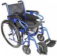 Универсальная инвалидная коляска OSD Millenium ІІІ с санитарным оснащением