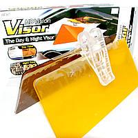 Солнцезащитный антибликовый козырек HD Vision Visor 2 в 1, День + Ночь