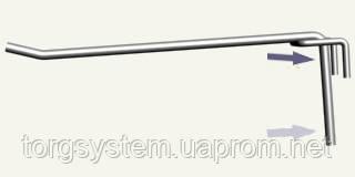 Крючок одинарный L - 100 5 мм (белый)