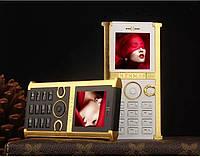 Стильный модный VIP телефон Vertu Hermes H008 на 1 сим-карту + чехол