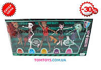 Набор кукол Монстер хай (из 5 штук) шарнирные 63035-1