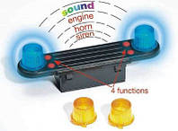 BRUDER Игрушка - аксессуар: звуковой и световой спецсигнал