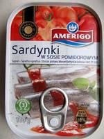 Сардина в томате Amerigo 110 г