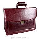 Мужской портфель темно-коричневого цвета, фото 2