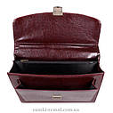 Мужской портфель темно-коричневого цвета, фото 5