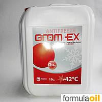 Антифриз Grom-ex G12 -42*C (Красный) 10L