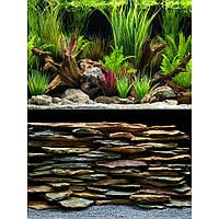 Hagen Marina Double Sided Aquarium Background Oasis Slate Wall двусторонний фон для аквариума 30см х 7.5м