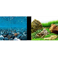 Hagen Marina Double-Sided Aquarium Background, Stoney River Japanese Garden Scenes двусторонний фон для аквариума 45см х 7.5м