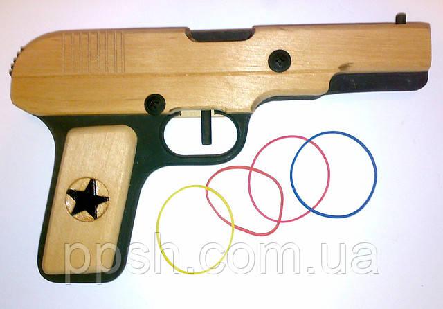 Пистолет ТТ обр. 1933 года стреляет резинками