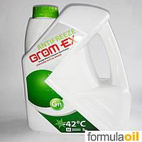 Антифриз Grom-ex G11 -42*C (Зелёный) 5L