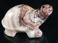 Статуэтка черепаха из оникса
