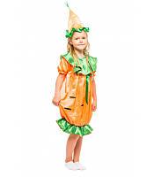 Карнавальный костюм Морковки для девочки