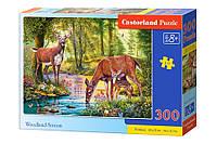 Пазлы Олени у реки 300 элементов Castorland