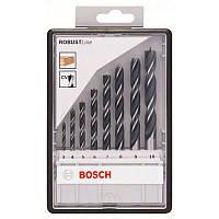 Набор сверл Bosch по дереву 8 шт, ROBUST LINE, 2607010533