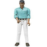 Bruder Фигурка мужчины в белых джинсах( 60003), фото 1