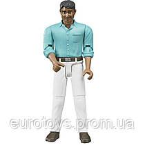 Bruder Фигурка мужчины в белых джинсах( 60003)