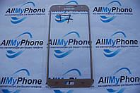 Стекло корпуса для мобильного телефона Samsung J700F / J700H / J700M J7 Gold
