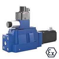 Гидрораспределители Bosch Rexroth 4WRD...XN  с электрическим возвратным движением хода (Рексрот)