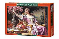 Пазлы Дама в лиловом 3000 элементов Castorland