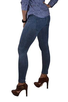 Лосины бесшовные под джинс р.46-52 (TKC21) | 12 пар, фото 2
