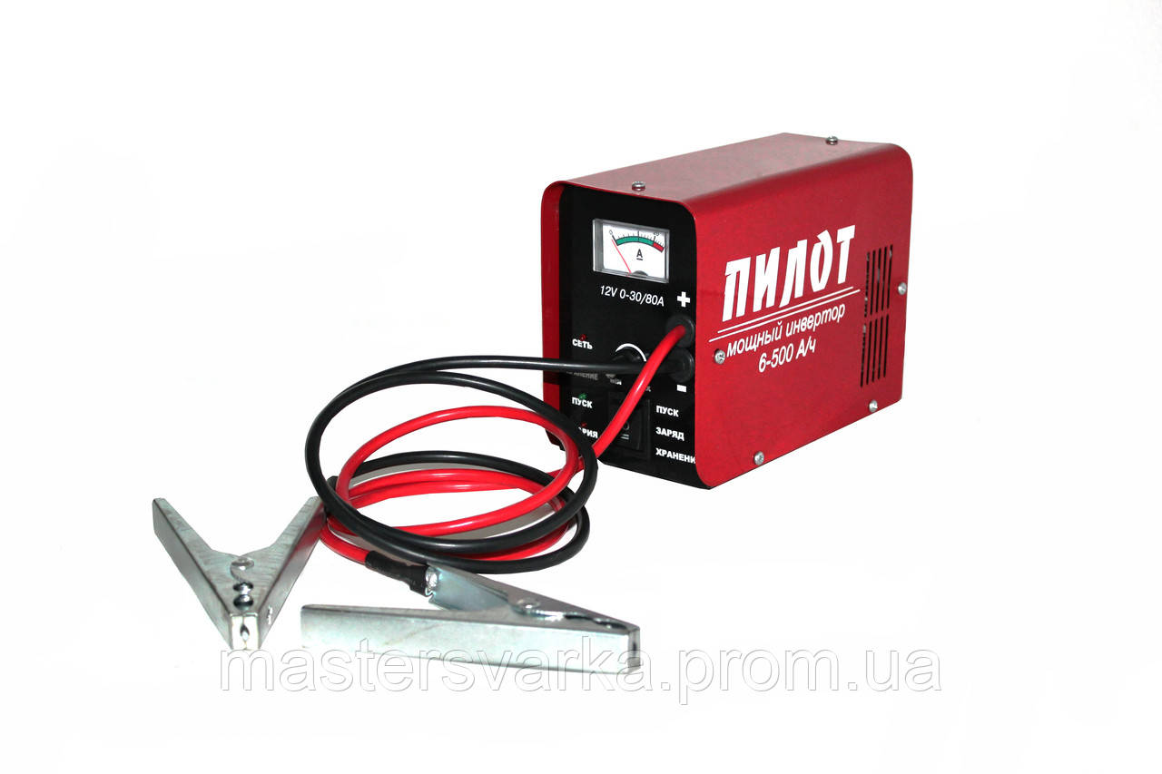 Пуско-зарядное устройство ТЕМП ПЗУ-12-30/80 А «ПИЛОТ»