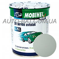Автоэмаль двухкомпонентная автокраска акриловая (2К) 233 Белая Mobihel, 0,75 л