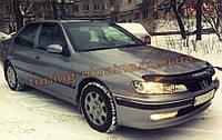 Дефлекторы окон (ветровики) COBRA-Tuning на PEUGEOT 406 SD 1995-2004