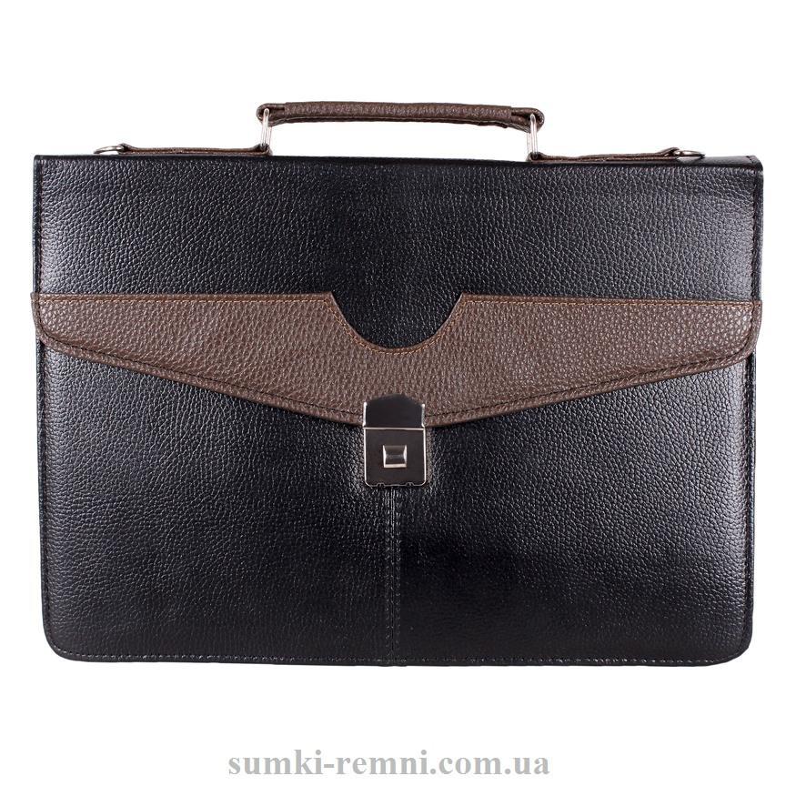 Мужской портфель из искусственной кожи 3038 черный