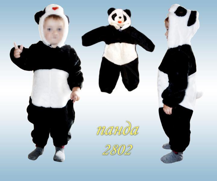Детский карнавальный новогодний костюм Панда 273af5efc329c