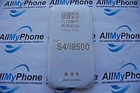 Чехол силиконовый для Samsung i9500 S4 0.5mm White