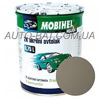 Автоэмаль двухкомпонентная автокраска акриловая (2К) 236 Бежевая Mobihel, 0,75 л