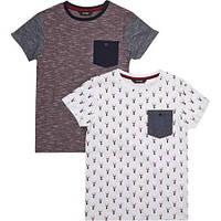 "Набор из 2х футболок для мальчика George UK ""Охота""  р.6"
