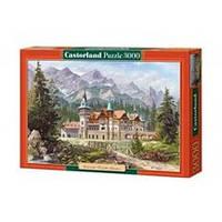 Пазлы Картина - Замок в горах 3000 элементов Castorland