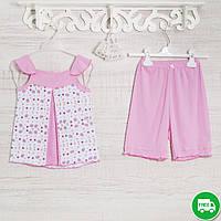 Пижамы детские, на девочку 140см, 1117GERDA хлопок-климакотон, в наличии 116,122,128 Рост