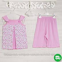 Пижамы детские, на девочку 140см, 1117GERDA хлопок-климакотон, в наличии 116,122,128 Рост, фото 3