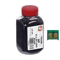 Тонер+чип АНК для HP CLJ CP1025 ( тонер АНК, чип АНК) 40г Black (1500122)
