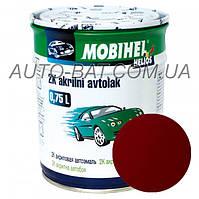 Автоэмаль двухкомпонентная автокраска акриловая (2К) Daewoo 71L Mexico Red Mobihel, 0,75 л