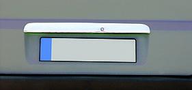 Накладки над номером (нерж) - Mercedes Vito W638 (1996-2003)