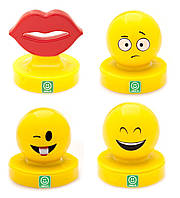 Фигурки штампы Imoji Веселое настроение 5 штук