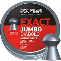 Пули JSB Exact Jumbo Diabolo,1,030 г. 250 шт.