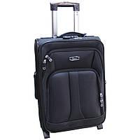 Большой стильный чемодан на колесах