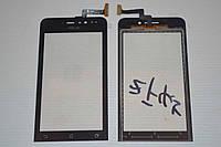 """Оригинальный тачскрин / сенсор (сенсорное стекло) для  Asus ZenFone 4 A450CG 4.5"""" (черный цвет) + СКОТЧ"""