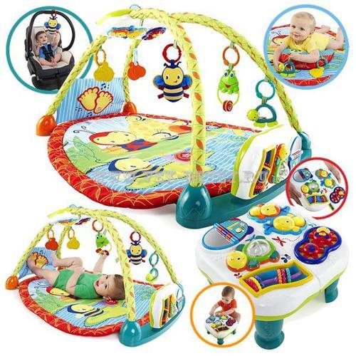 Развивающие коврики, игровые столики и центры