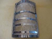 Накладки  на стопы (2 шт, нерж.) - Mercedes Vito W638 (1996-2003)