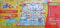 Азбука Плакат 3 в 1 Английский, Русс., Украинский
