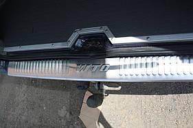 Накладка на задний бампер (Omsa, нерж) - Mercedes Vito W638 (1996-2003)