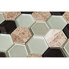 Мозаика мрамор стекло Vivacer SB06, фото 2