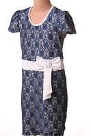 Платье гипюровое с бантом, фото 1